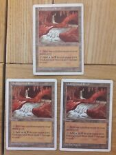 Magic The Gathering Cards - 5th Edition - Underground River x 3