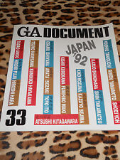 REVUE GA DOCUMENT - n° 33 - Japan ' 92 - Global Architecture