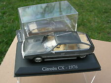 NOREV 1/43  CITROEN CX 2400 PALLAS GRIS METAL 1976 +1 CAPOT BOITE CRYSTAL OFFERT