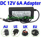 2A 6A 12V Power Supply Adapter Transformer for 5050 3528 LED Strip Light Charger
