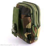 Dpm camo compact edc 1050D molle pouch bushcraft survie kits camping