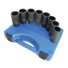 Astro Pneumatic 78868 8pc 12-Point Axle Nut Socket Set