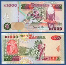 SAMBIA / ZAMBIA 1000 Kwacha 2003 UNC  P.40 c