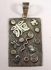 Navajo Sterling Silver Handmade Pendant - Scott Skeets