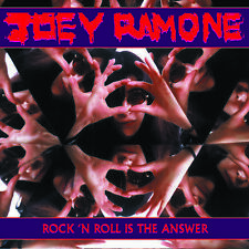 "JOEY RAMONE - ROCK'N'ROLL IS THE ANSWER - 7"" RED VINYL BRAND NEW SEALED 2012 RSD"