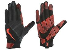 Nike Men's Lunatic Training Gloves For Croos-Training, Size XL, Black/Orange, 07