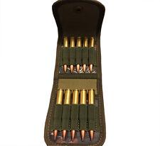 Tourbon Rifle Cartridges Pouch Ammo Wallet Carry Case on Belt Camo