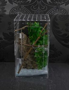 Clear Acrylic Reptile Enclosure