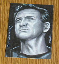 Sid Luckman 2013 Leaf Best of Football Sketch Card #1/1 - Chicago Bears