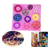 Gear Fondant Mold Cake Decorating Chocolate Candy Baking Mould Tools Silicone