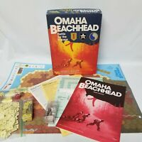 1987 Victory Games Omaha Beachhead Battle for the Bocage Complete