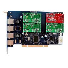 Asterisk Card TDM410P PCI 1 FXO+3 FXS Card FXO Board Issabel FreePBX TDM400P