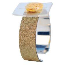 Glimmer corsage bracelet Cuff-Or-Fleur de Mariage Mariée Bal