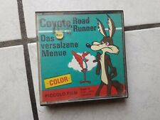"Coyote ,Road Runner ""das versalzene Menü""   Super 8mm , 15   meter, s/w."