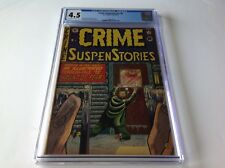 CRIME SUSPENSTORIES 8 CGC 4.5 EC COMICS PRE CODE HORROR MEAT FREEZER CVR INGELS
