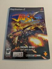 JAK X COMBAT RACING DEMO DISC PLAYSTATION 2 PS2 NEW SEALED!