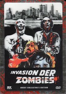 Invasion der Zombies , only german audio , 3D-Holocover Ultrasteelbook , NEW