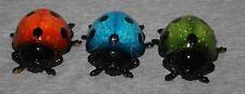 Ladybird Ladybug Lady Bug Decorative Ornaments Animal Garden Figurine (set 3)