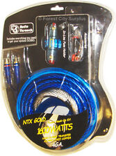 NTX Gold NTX-1600 4 Gauge Car Amplifier Installation Kits, High Power Transfer