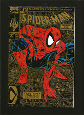 1990 Spider-Man #1 Marvel Comics Very Fine+ Gold Edition Todd McFarlane