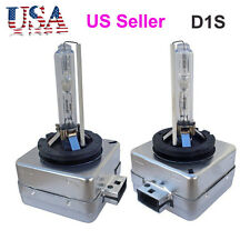 D1S 6000K HID Xenon Headlight Light bulbs 1 Pair OEM Factory Replacement 35W New