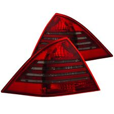 ANZO TAIL LIGHTS RED/SMOKE for 01-03 MERCEDES-BENZ C230/C240/C320/C55/C32 4DR