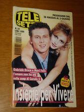 TELESETTE 2000/22=GABRIELE GRECO MAVI FELLI=NICCOLO FABI=VICTOR ALFIERI=ECTECT