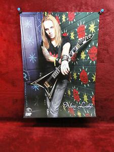 LAST ONES<Children of Bodom *Alexi Laiho* ESP Guitars Promo Poster<<>>BIG & RARE