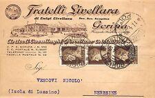 5654) GORIZIA, ARTICOLI CASALINGHI, PORCELLANE E CRISTALLERIE FRATELLI LIVELLARA