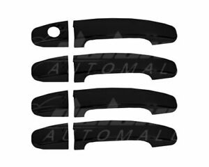 Gloss Black Door Handle Covers FOR 2019 2020 Ford Ranger (4 door set)