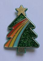 Hallmark Vintage 1985 Holiday Pins CHRISTMAS TREE SPARKLE RAINBOW