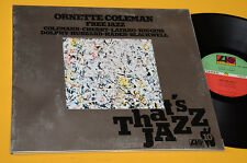 ORNETTE COLEMAN FREE JAZZ LP TOP JAZZ ITALY 1976 MINT GIMMIX LAMINATED