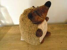 Cute Fuzzy Hedgehog Doorstop