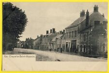 cpa Rare Dos 1900 LA CHAPELLE SAINT MESMIN (Loiret) Grande Rue Route de BLOIS