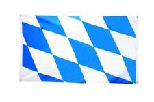 BALKONFLAGGE BALKONFAHNE Deutschland Bayern ohne Wappen Flagge Fahne für den BAL