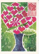 France 1972 20th ann. Blood Donors Association Maxim Card Unused VGC