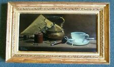 FINE FRANK LILJEGREN OIL PAINTING ON CANVAS W/ KENNEDY GALLERIES LABEL