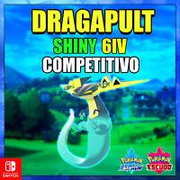 Dragapult Shiny 6 IV Pokemon Espada escudo competitivo - max dinamax - pokerus
