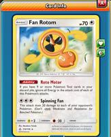 Pokemon TCG ONLINE x4 Fan Rotom 110/131 (DIGITAL CARD) Forbidden Light Rare