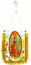 Our Lady of Guadalupe Flag Hanging Car Pennant for Car Window or Rearview Mirror