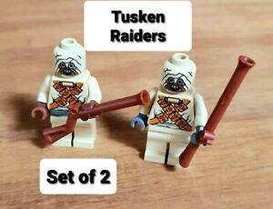 LEGO 7113 STAR WARS TUSKEN RAIDERS (SAND PEOPLE) MINIFIGURES X2 MINT CONDITION