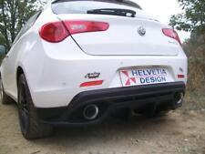 """DAM posteriore Rear Bumper """"GIULIA Quadrifoglio"""" + terminali TRX20 per Giulietta"""