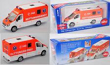 Siku 2108 03900 Mercedes-Benz Sprinter Rettungswagen Rettungsdienst 144 1:50