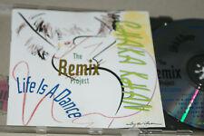CHAKA KHAN ** LIFE IS A DANCE -  THE REMIX PROJECT ** CD ALBUM
