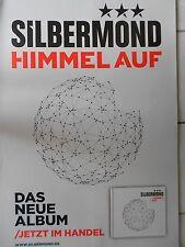 SILBERMOND  2012  ORIGINAL CONCERT-KONZERT-POSTER  84 x 60 cm