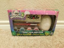 New in box Spin Master Hatchimals Paint your own bank set