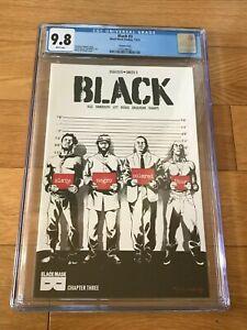 2016 Black Mask Studios BLACK #3 Osajyefo NEGRO Censored Variant CGC 9.8 rare