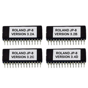 Roland JUPITER-8 NEUESTE O.S Version 3.2 JUPITER8 Update Upgrade Firmware Eprom