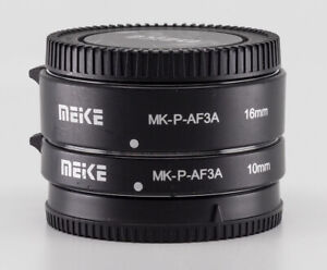 Meike MK-P-AF3A Auto Focus Extension Tubes 10 &16mm Panasonic Olympus Micro M4/3