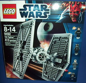LEGO 9492 STAR WARS ~ TIE FIGHTER ~ HTF Retired NEW SEALED